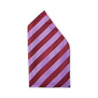Handkerchief red-purple striped noble gloss Fabio Farini business & everyday life