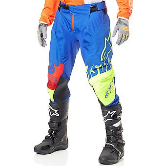 Alpinestars Blue-Yellow-Red 2018 Techstar Screamer MX Pant
