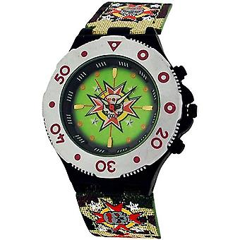 Call Of Duty Boy's Green Cameo Village Analogue Watch