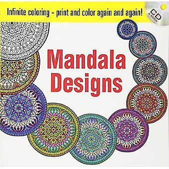 Oändlig färg Mandala Dsgn BKCD