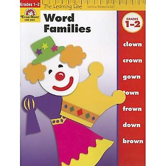 Word Families, Grades 1-2 (Learning Line)