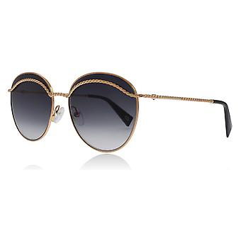 Marc Jacobs Marc253/S DDB Gold Marc253/S Round Sunglasses Lens Category 3 Size 58mm