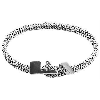 Anchor and Crew Brixham Noir Rope Bracelet - Blue/Black