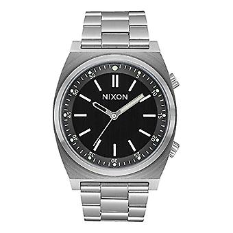 Nixon Mens Quartz analog watch with stainless steel band A1176-2474-00