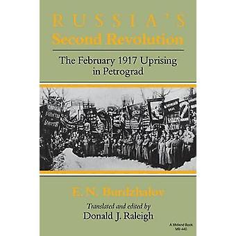 Russie S seconde révolution du février 1917 insurrection à Petrograd par Burdzhalov & N. E.