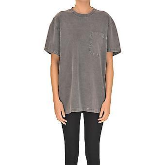Stella Mccartney Grey Cotton T-shirt