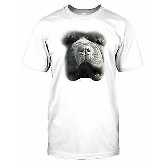 Chow Chow Pedigree Dog Face Kids T Shirt