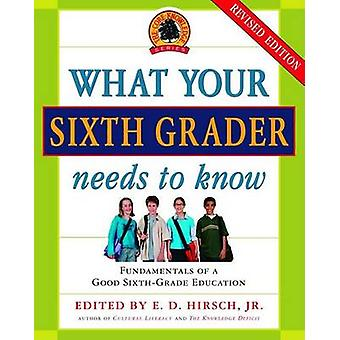 What Your Sixth Grader Needs to Know - Fundamentals of a Good Sixth-Gr