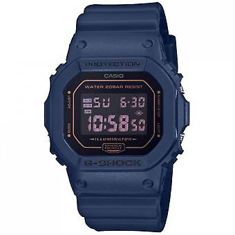 Casio DW-5600BBM-2ER Watch-G-Shock DW multifunctionele sinus armband blauw Bo tier R sine