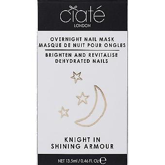 Ciate Overnight Nail Mask - Brightens & Revitalise Nails - Knight In Shining Armour 13.5ml (NT031)