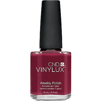 CND vinylux Weekly Nail Polish - Scarlet Letter (145) 15ml