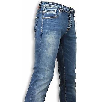 Exclusive Jeans-Slim Fit Regular Jeans-Blue