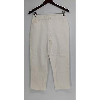 Isaac Mizrahi en direct! Régulier 24/7 Stretch 5 Pkt pantalon blanc