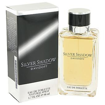 Silver Shadow by Davidoff Eau De Toilette Spray 1.7 oz / 50 ml (Men)