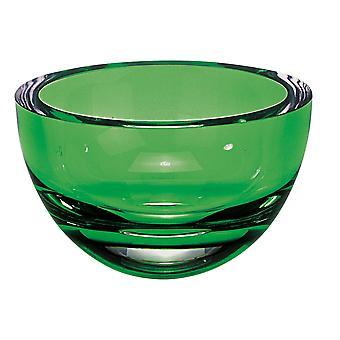 Emerald green penelope bowl 6 badash crystal k2008