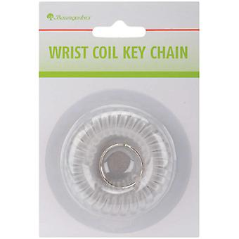 Wrist Coil Keychain Assorted Colors Kc 7000