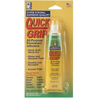 Quick Grip All Purpose Permanent Adhesive 2 Ounces Qg2c