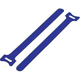 Hook-and-loop cable tie for bundling Hook and loop pad (L x W) 310 mm x 16 mm Blue KSS MGT-310BE 1 pc(s)