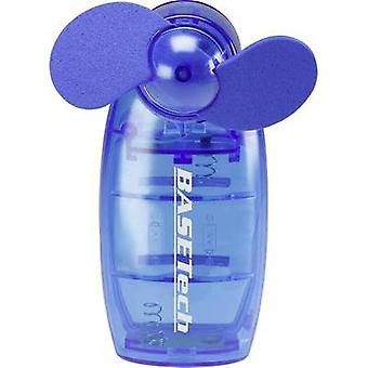Hand-held fan Basetech TM-2108A TM-2108A Blue