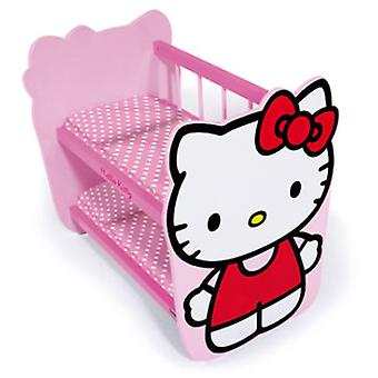 Saica Bunk Wood Hello Kitty (Toys , Dolls And Accesories , Baby Dolls , Cradle)