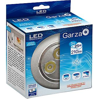 Garza 3W Recessed Led Hp 60 210lm Aluminum 27K (Home , Lighting , Light bulbs and pipes)