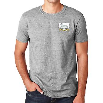 The West Yorkshire Regiment Embroidered Logo - Official British Army Ringspun T Shirt