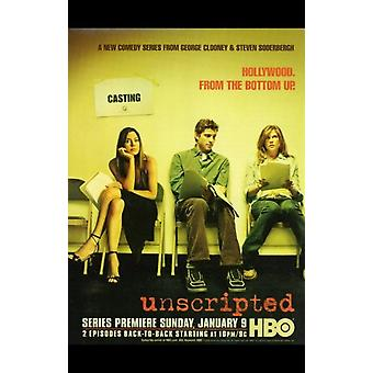 Unscripted Movie Poster (11 x 17)