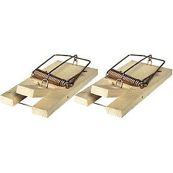 Mousetrap Swissinno Holz-Mausfalle 2er 2 pc(s)