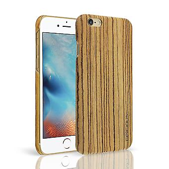 Celicious Authentik Apple iPhone 6s / iPhone 6 Natural Wood Back Cover - Zebra