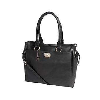 Dr Amsterdam Hand/shoulder bag Mint Black