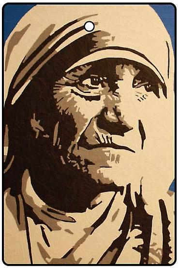 Mother Teresa Car Air Freshener