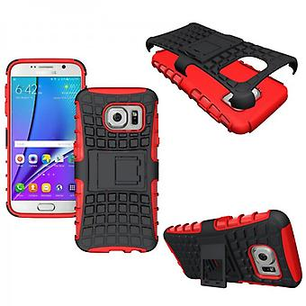 Hybrid case 2 piece SWL outdoor red for Samsung Galaxy S7 G930 G930F