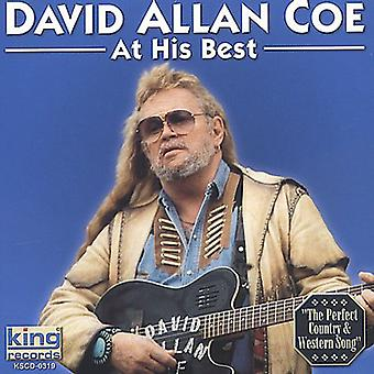 David Allan Coe - At His Best [CD] USA import