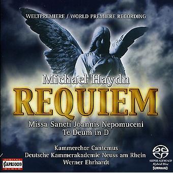 M. Haydn - Michael Haydn: Requiem [CD] USA import