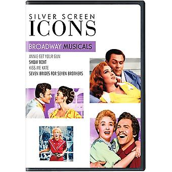 Silver Screen Icons: Broadway Musicals [DVD] USA import
