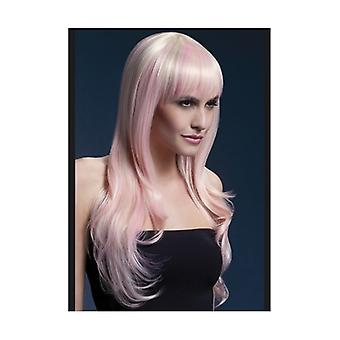Smiffy's Fever Sienna Wig, 26inch/66cm, Blonde Candy