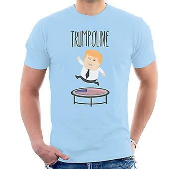 Trumpoline Donald Trump republikanske kandidat mænd T-Shirt