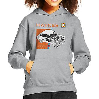 Haynes Owners Workshop Manual 0173 Fiat 127 Kid's Hooded Sweatshirt