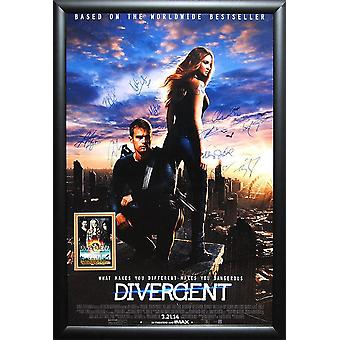 Divergent - Signed Movie Poster