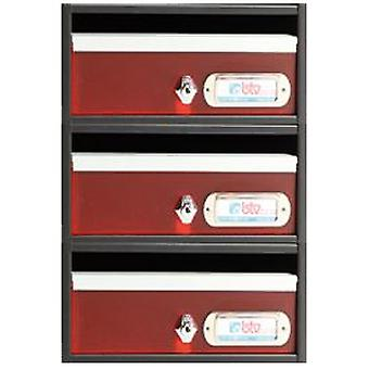 BTV Avant mailbox Red 240X250X120 G3 (DIY , Hardware , Home hardware , Mailboxes)
