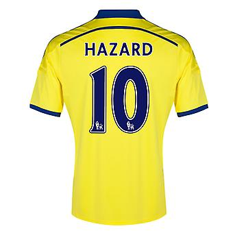 2014-15 Chelsea Away Shirt (Hazard 10) - Kids