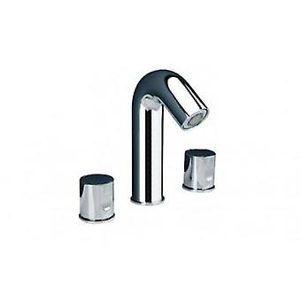 Galindo Onlyone basin mixer with semi-automatic drain with aerator
