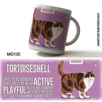 Retro Ceramic Mug - Tortoishell Pink