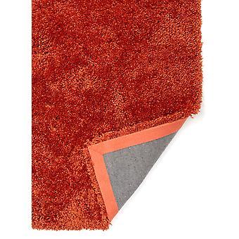 Soft Luxurious Warm Terracotta Shaggy Rug