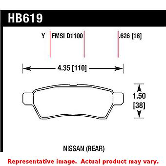 Hawk Truck/SUV Brake Pads HB619Y.626 Fits:NISSAN 2005 - 2014 FRONTIER  Position