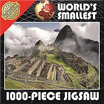 World's Smallest 1000 Piece Jigsaw Puzzle - Machu Pichu (1000 Pieces)