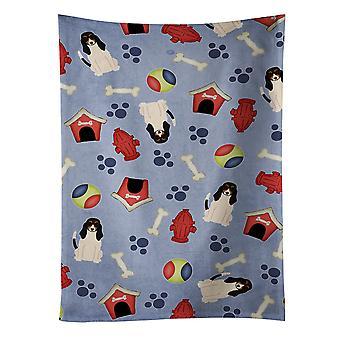 Carolines Treasures  BB2657KTWL Dog House Collection Swiss Hound Kitchen Towel