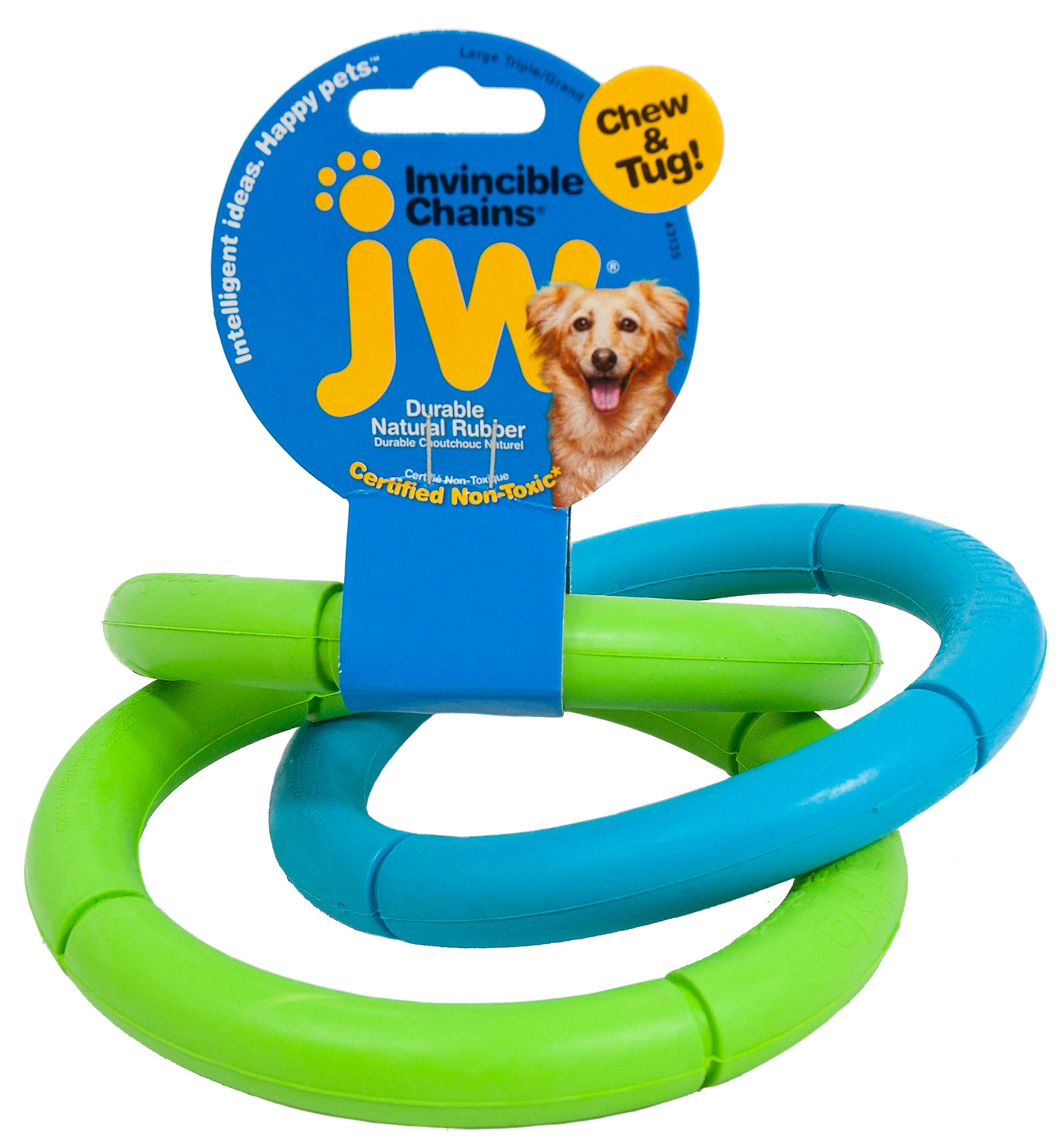 JW Invincible Chains Grande Triple (Dogs , Toys & Sport , Chew Toys)