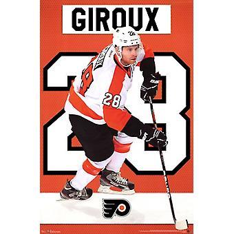 Philadelphia Flyers - Claude Giroux 2013 Poster Poster Print