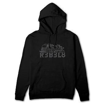 Rebel8 Sacrifice Pullover Hoodie Black
